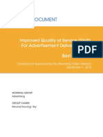 Improved Quality of Service (QoS) for Advertisement Delivery Across OTT_ Best Practices