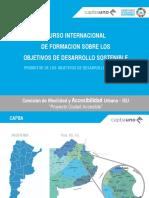 Presentación Temática de La Comisión de Movilidad y Accesibilidad Urbana - CAPBA 1
