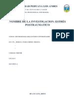 Monografia de Estres Postraumatico