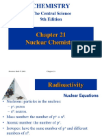 Central Science by Brown Ch 21 Nuclear Chemistry
