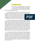 Actividades y Técnicas Metodológicas Para Estudio (1)