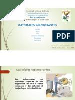 Materiales Aglomerantes 18-19