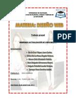 Trabajo en Grupo Diseño Web