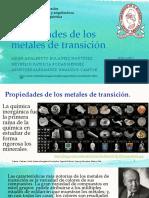 EXPO-Propiedades de Los Metales de Transición Revision