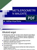 Metilergometrin Maleate Edit