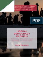 Alen Toplišek - Liberal Democracy in Crisis