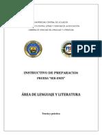 Modulo Lenguaje y Literatura - Preparacion Ser Enes