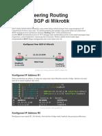 Tutorial Peering Routing Dinamis IBGP Di Mikrotik