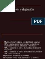 III. Masticación y Deglución