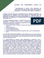 Causas & Propostas Para Reduzir a Corrupção No Brasil
