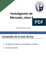 Clase 4 Investigacion de Mercado Tipos de Escalas