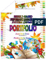 Rpms Portfolio Labels