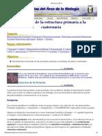 Estructura protéica