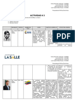 Actividad - Planes Nacionales de Desarrollo