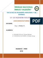 Confecciones REWAL Lean Manufacturing