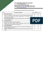 Audit Penempatan Ruang Isolasi Transmisi Droplet