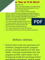 Delirium, Gg Dismnesik & Demensia, 2010