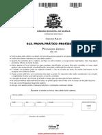 2016 CAMARA MARÍLIA Prova Pratica Procurador Juridico