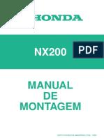 Manual de Montagem NX 200