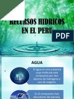 Recursos Hidricos en El Peru