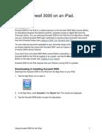 Using Kurzweil 3000 on an iPad