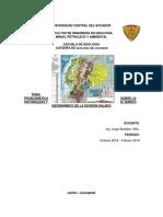 PROBLEMÁTICA SOBRE LA NATURALEZA Y EL MARCO GEODINÁMICO DE LA DIVISIÓN SALADO