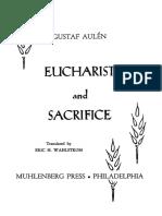 Eucharist and Sacrifice - G. Aulén