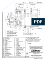 780Q Gearbox Assembly and Lubrication Drawing