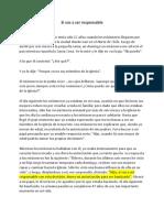 Las Estructuras Condicionales - Texto Expositivo