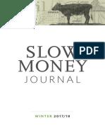 Slow Money  Journal