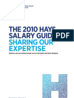 Hays Salary Guide 2010 NZ Acct Bank Off