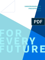 International Undergraduate Prospectus 2015 2016