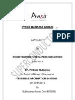 Bis Project-Room Temperature Superconductors