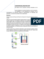 Aplicaciones en La Industria Del Reactor Cstr