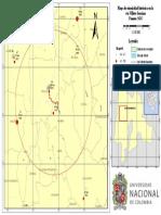 Mapa Sismicidad Histórica Vía Villeta-Sasaima[SGC]
