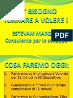 C'E' BISOGNO TORNARE A VOLERE POWER POINT 2003