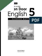 Open Door English TG 5