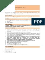 Resume 2G