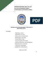 Informe de Partículas Montmorillonita