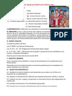 Plan de Fiestas Patrias 2019