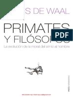 DE WALL frans Primates y Filosofos.pdf