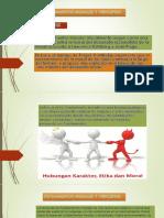 Fundamentos, Principios, Normas y Relativismo Morales