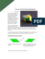 4 Part Letterbox Silver Octahedron