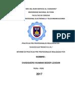 Informe General de Practicas
