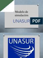 Guía para la realización de Modelos UNASUR