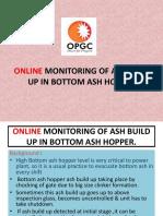 On Line Monitoring of Bottom Ash Hopper Ash Build Up