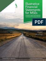Illustrative Financial Statements for Medium Sized Companies