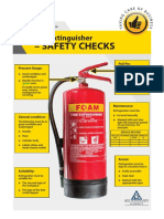Fire Extinguisher Safety Checks
