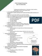 Schillo_L-Exam Two Study Guide