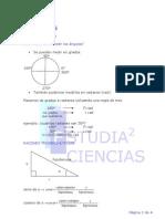 trigonometría 4 ESO